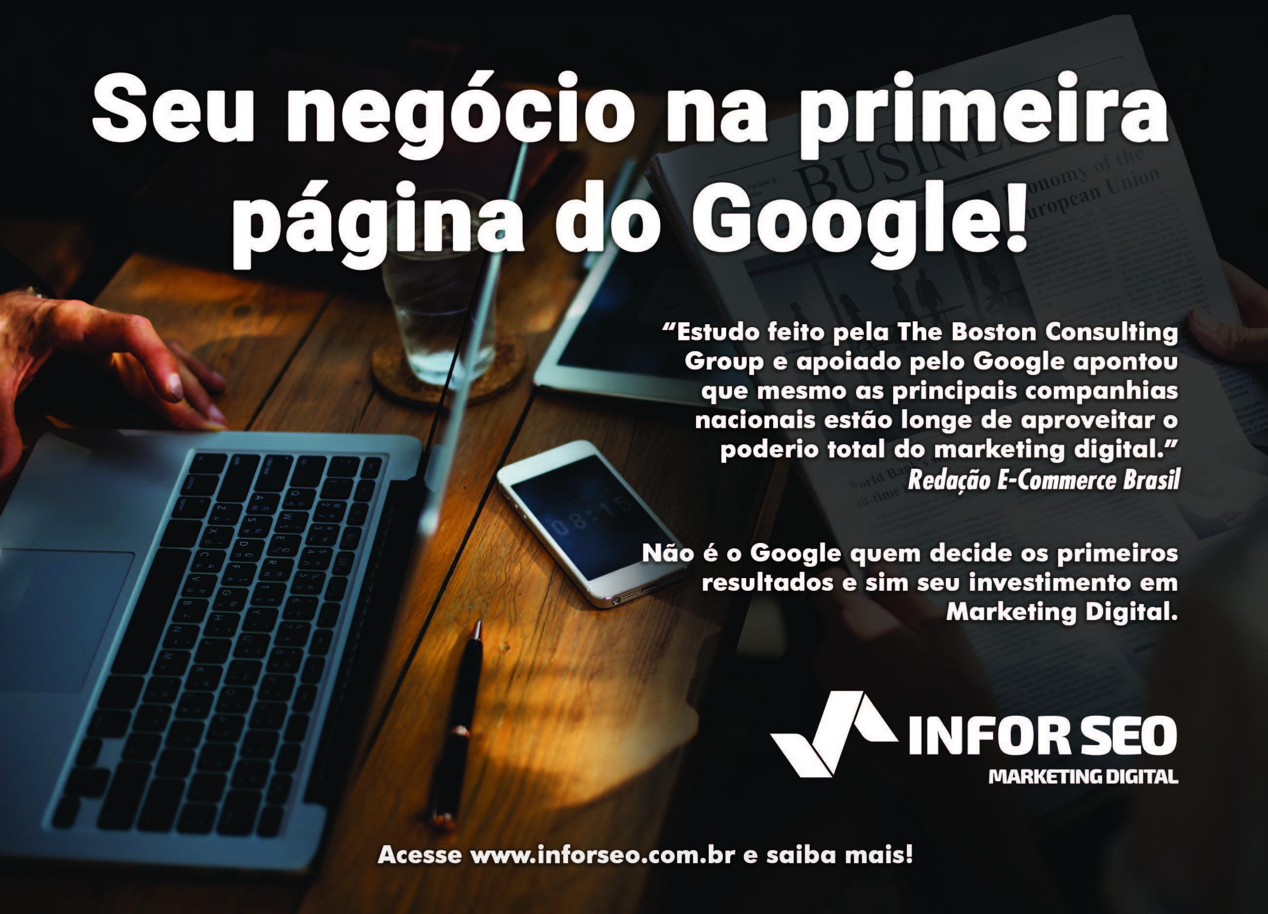 Coloque Seu Negócio na Primeira Página do Google